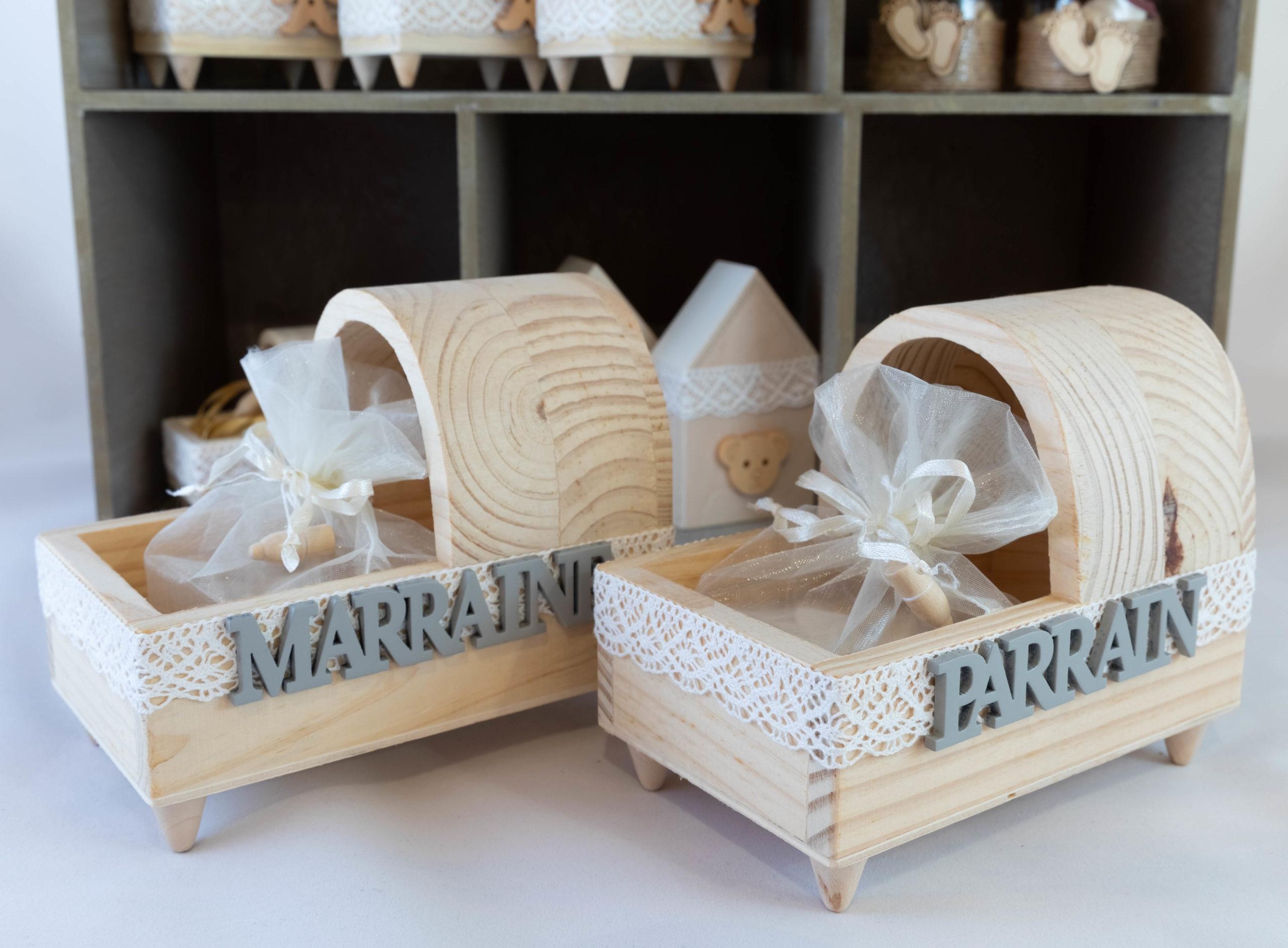 Berceau Parrain Marraine - Bois Image