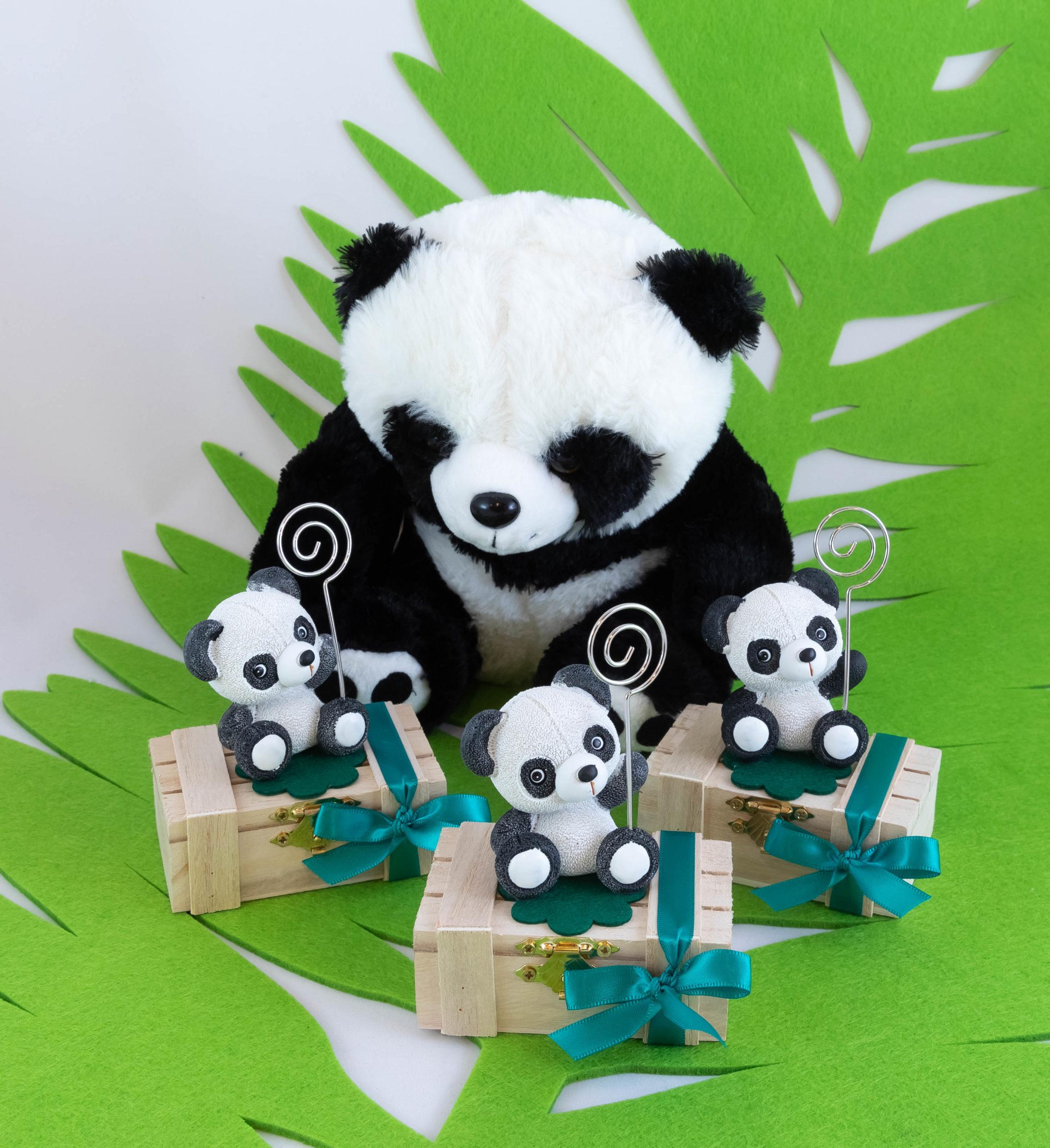 Boite bois - Panda Image