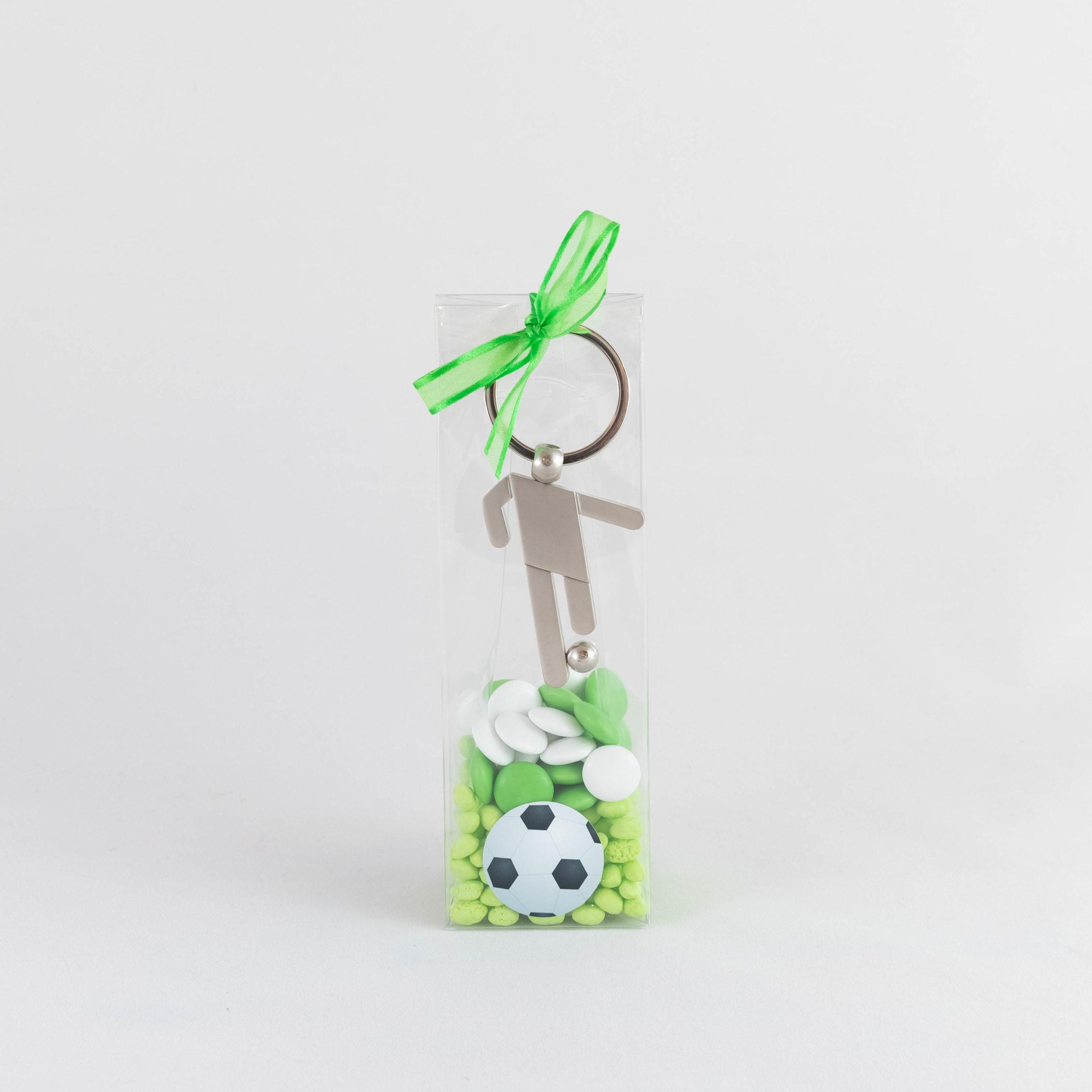 Boite footballeur métal - Foot Image