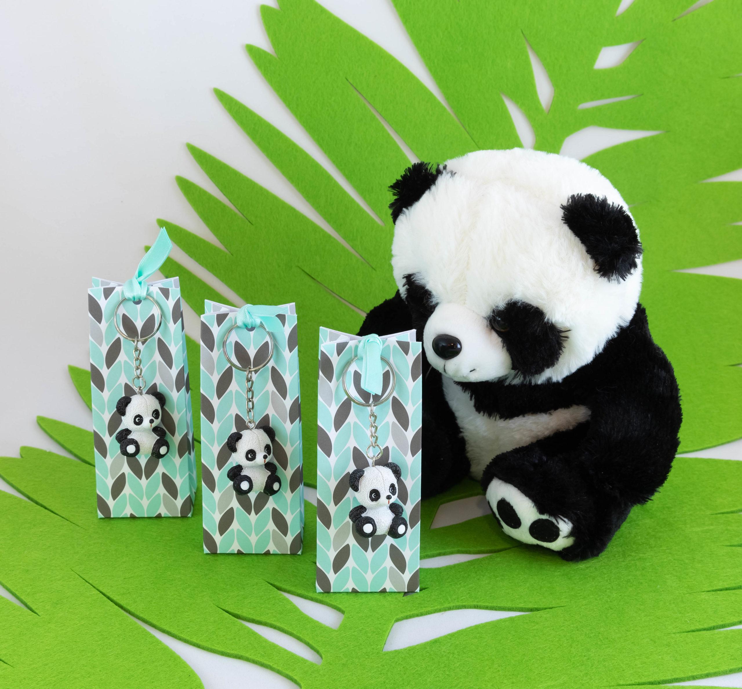 Boite porte-clé - Panda Image