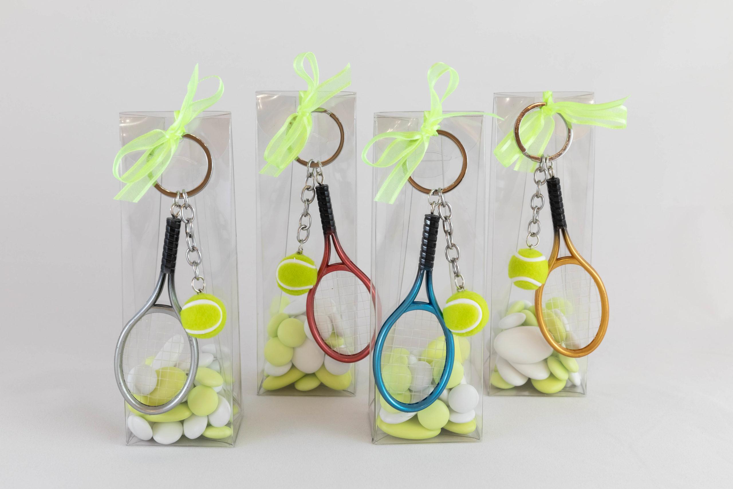 Boite porte-clé - Tennis Image