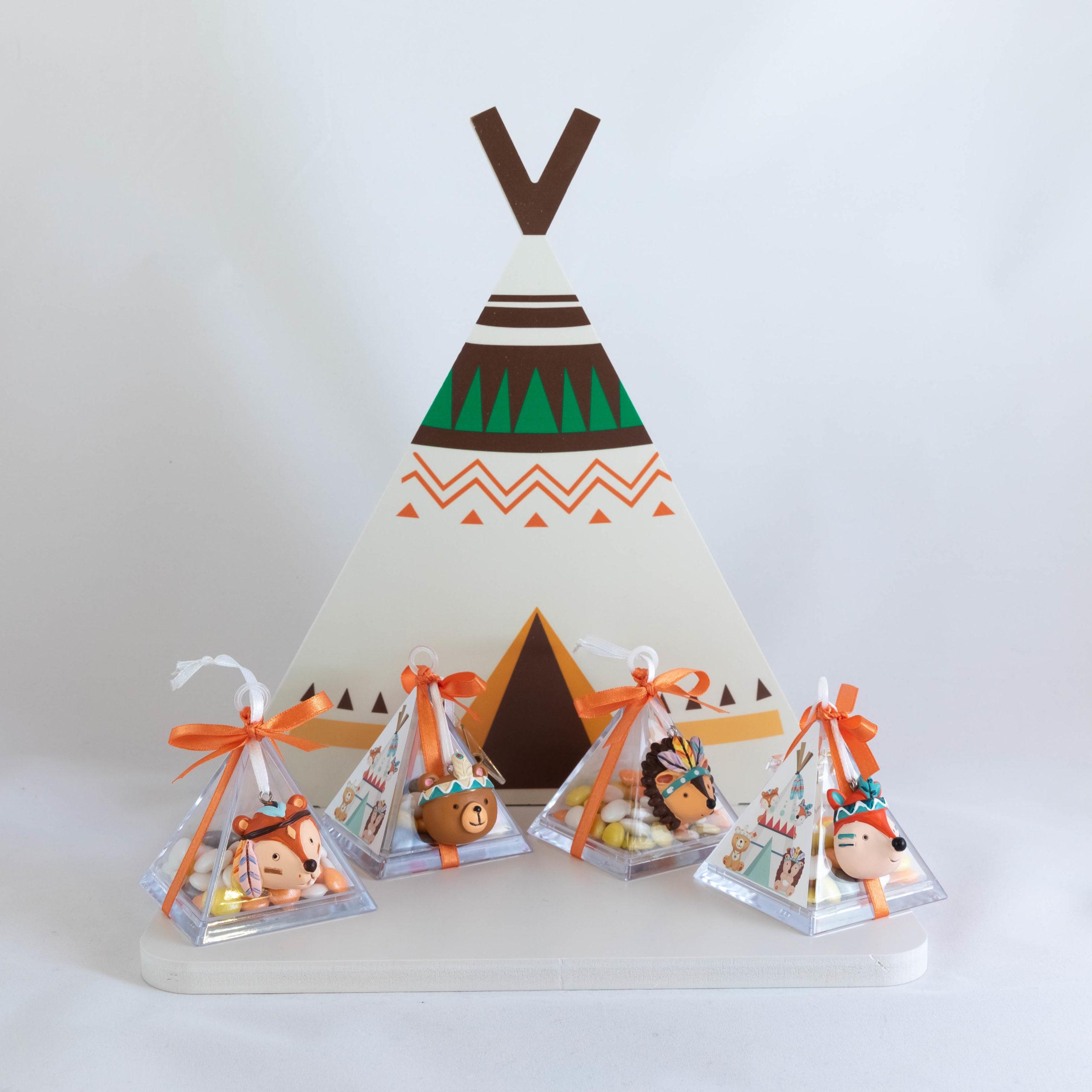 Boite pyramide - Copains des bois Image