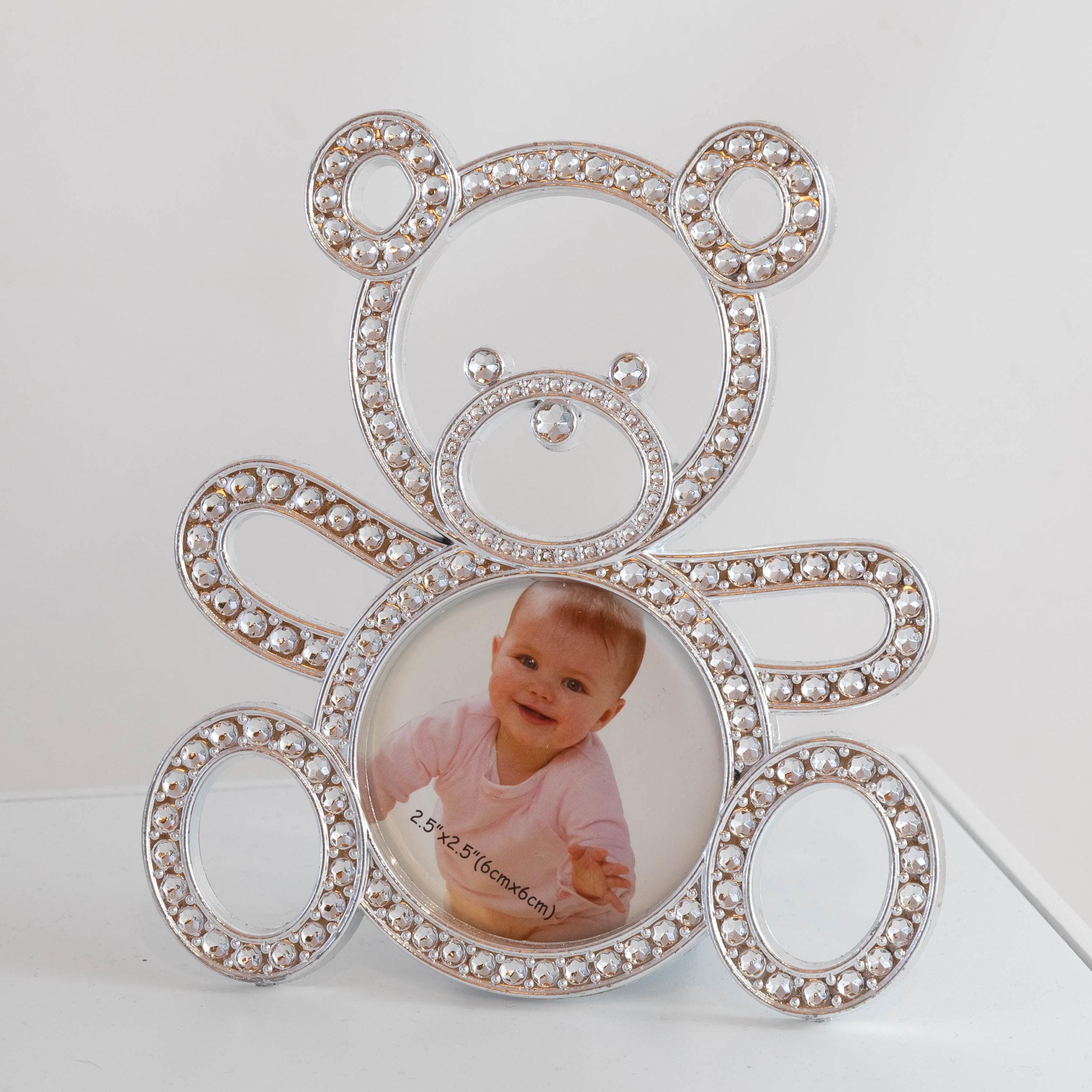 Cadre - Porte-clé ours argent Image