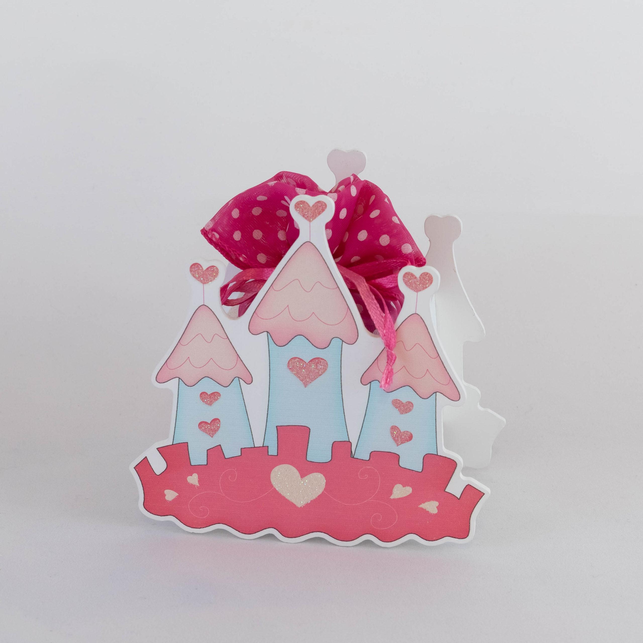 Château en bois - Fille rose Image