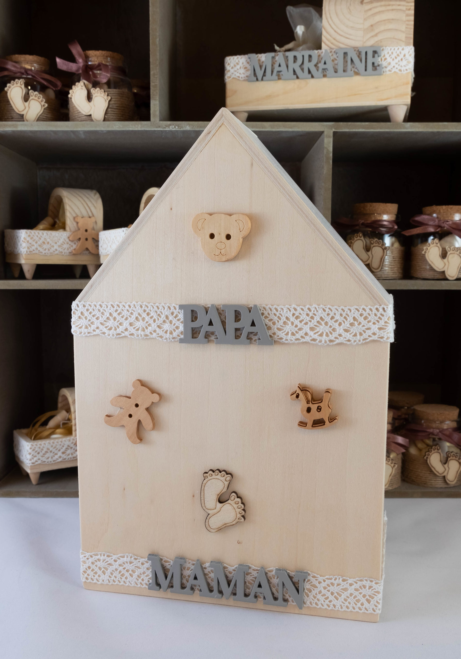 Maison Papa Maman - Bois Image