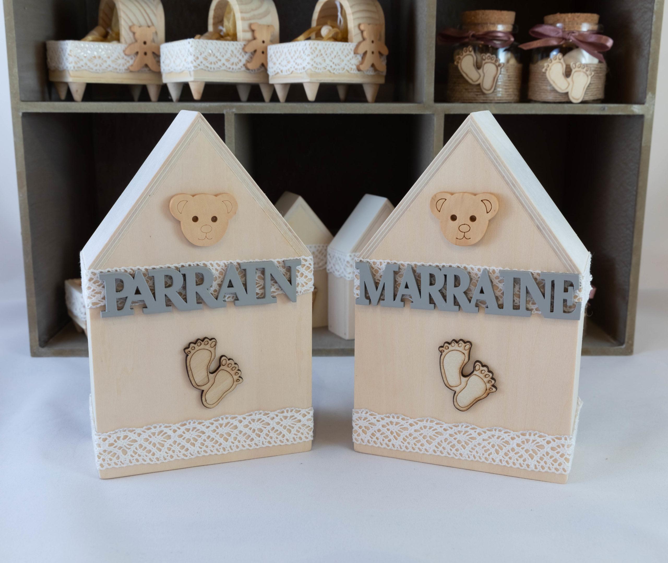 Maison Parrain Marraine - Bois Image