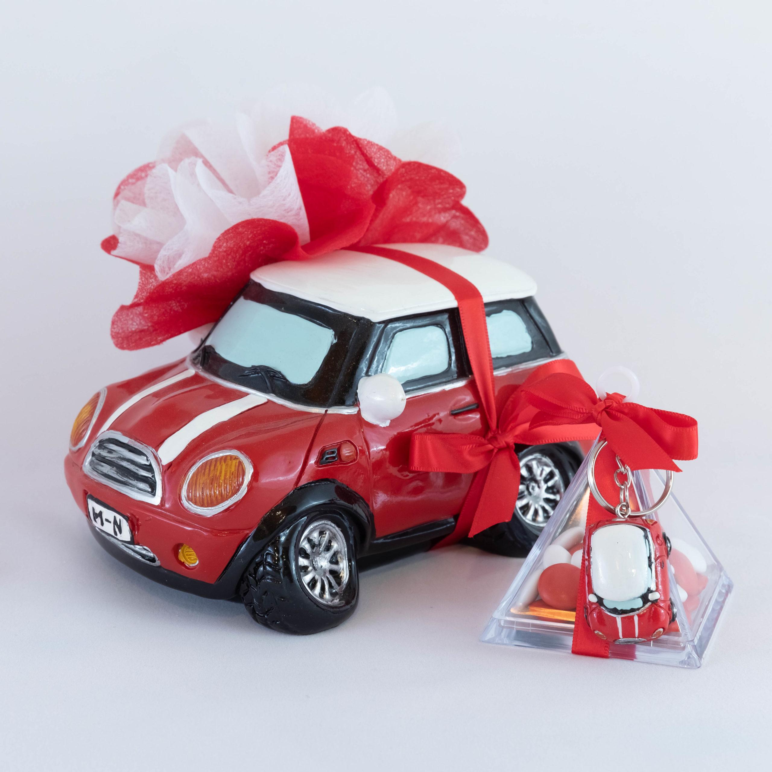 Mini Cooper rouge Ensemble - Véhicule Image