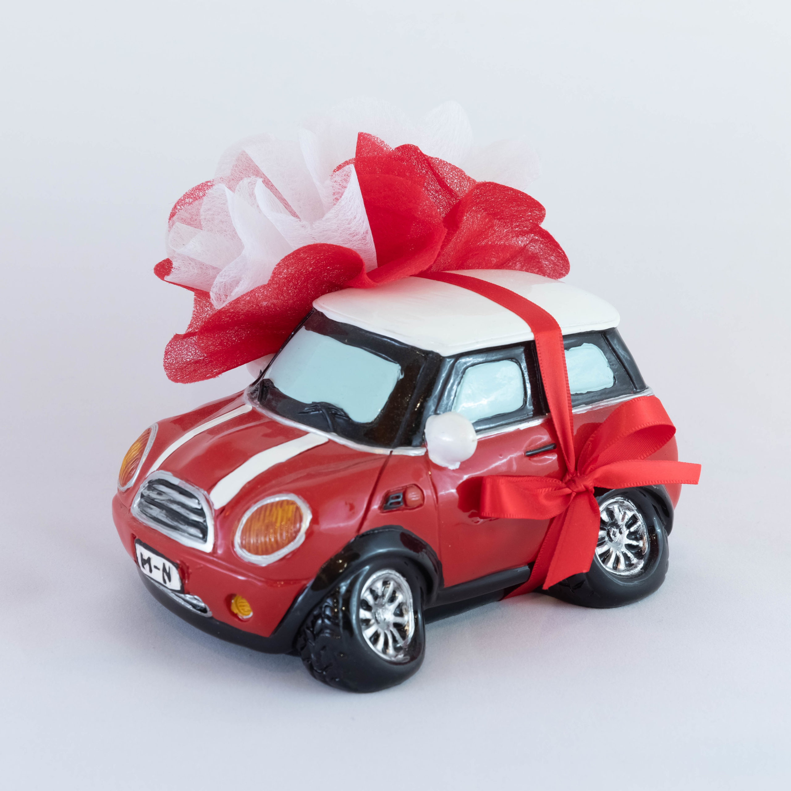 Mini Cooper rouge tirelire - Véhicule Image