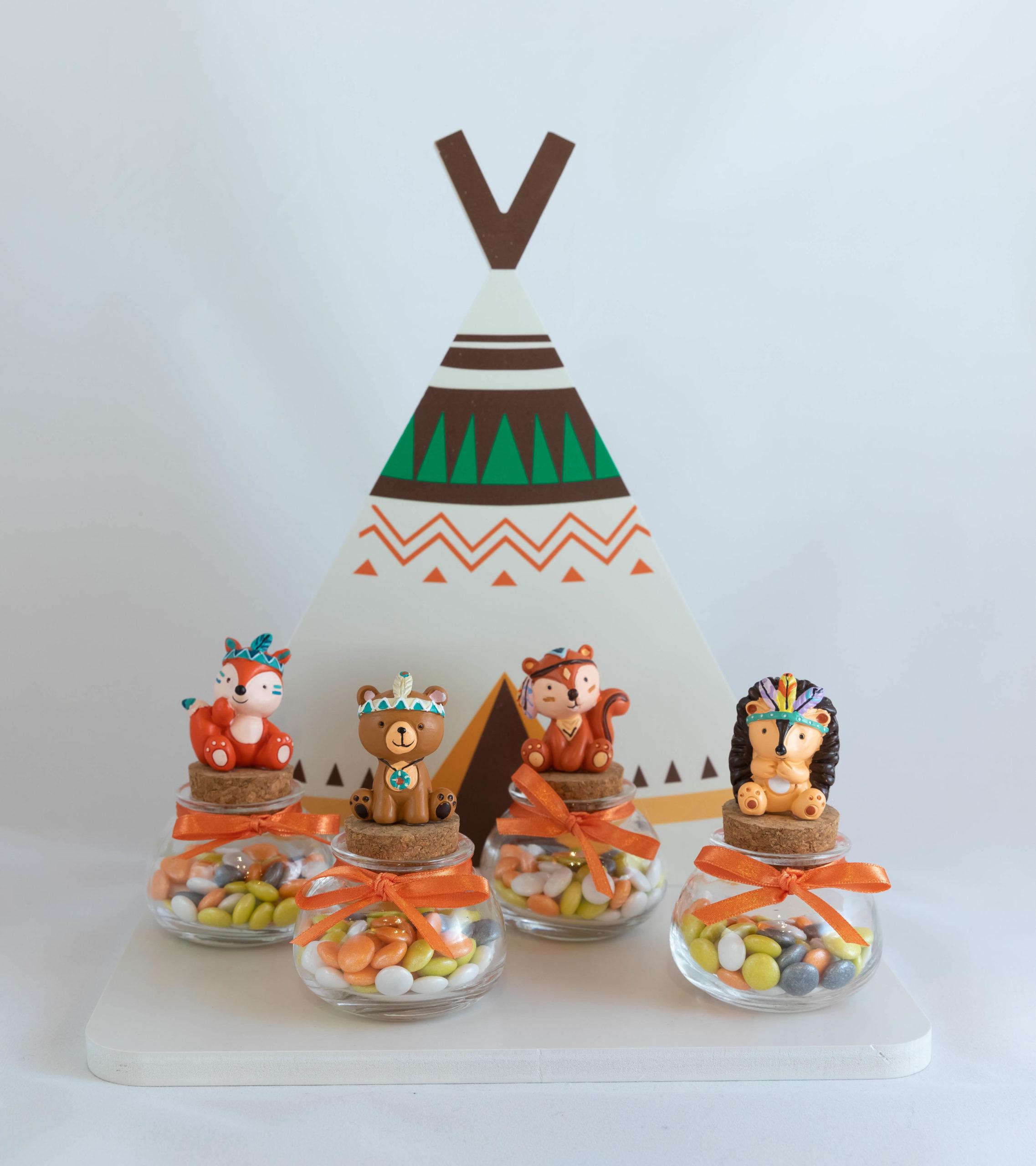 Pot rond en verre - Copains des bois Image