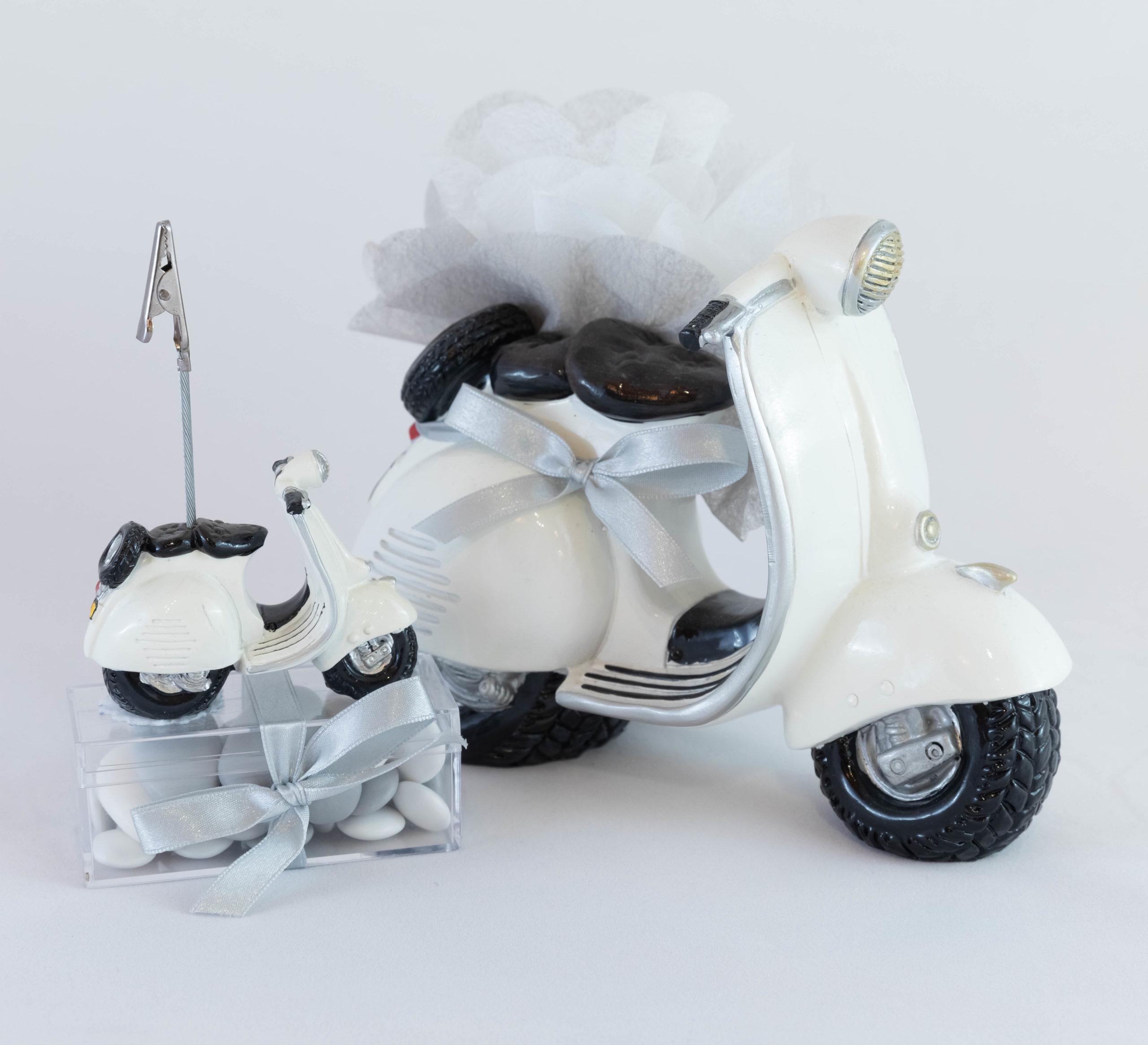Scooter blanc Ensemble - Véhicule Image