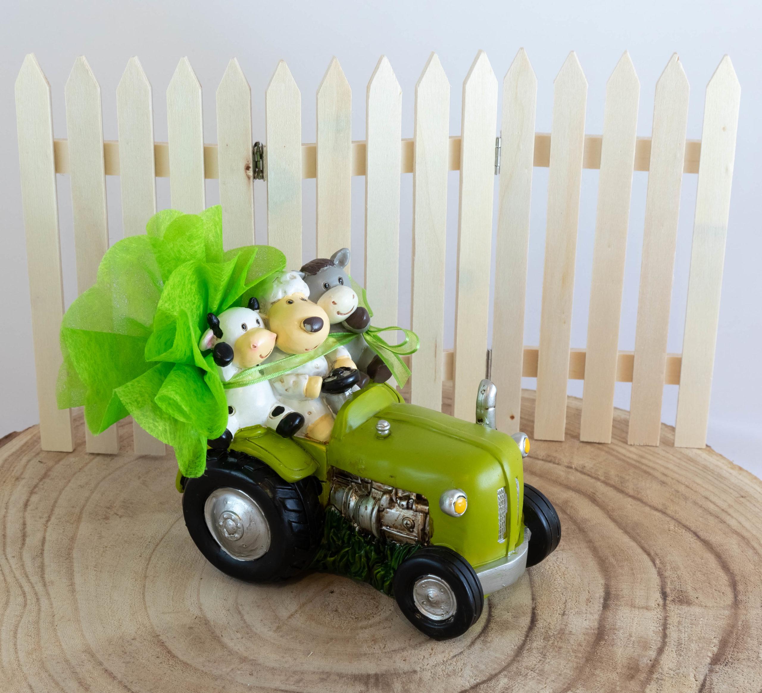 Tirelire tracteur - Ferme Image